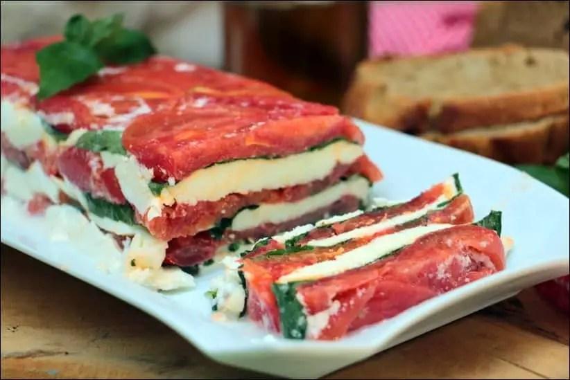 terrine tomate mozzarella