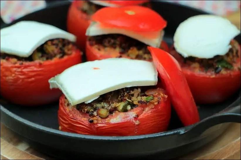 tomates farcies chevre