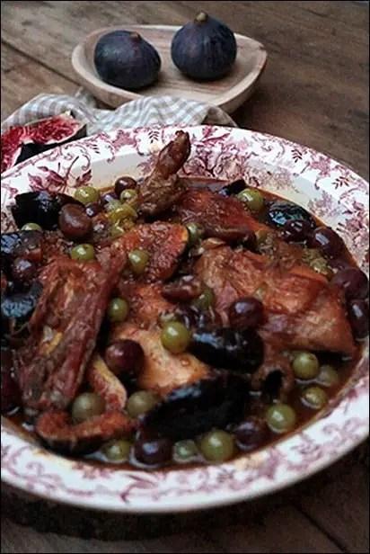 lapin raisin et figues