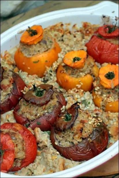 tomates farcies au veau haché