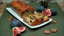cake aux figues bleu et noix