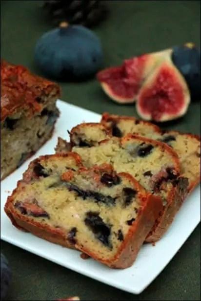 cake figues gorgonzola noix