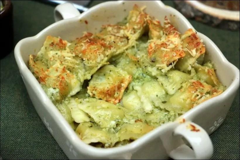 ravioles au beurre d'ail