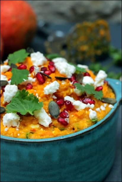 puree courge feta