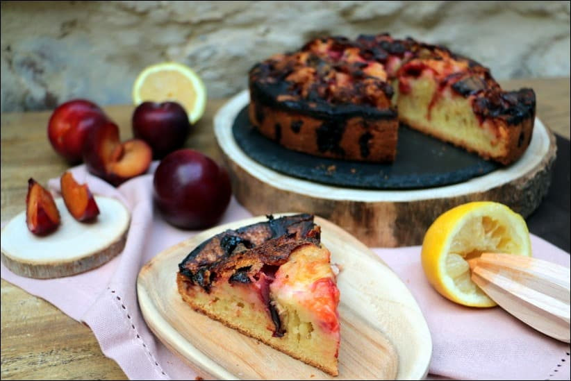 torte aux prunes du New York Times