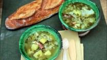 soupe campagnarde à l'oseille de Ricardo