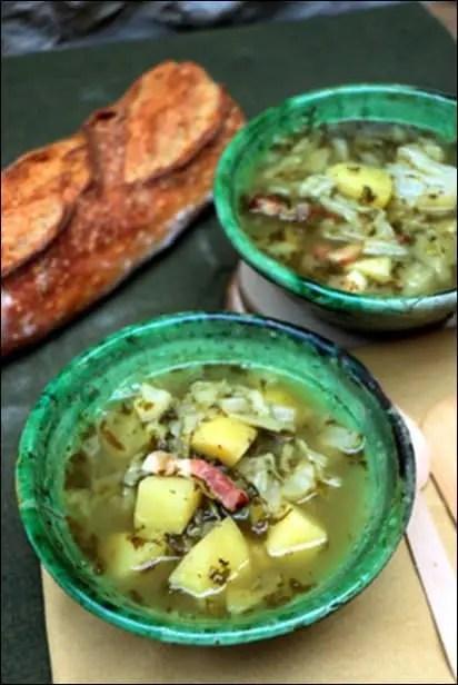 soupe pommes de terre et oseille