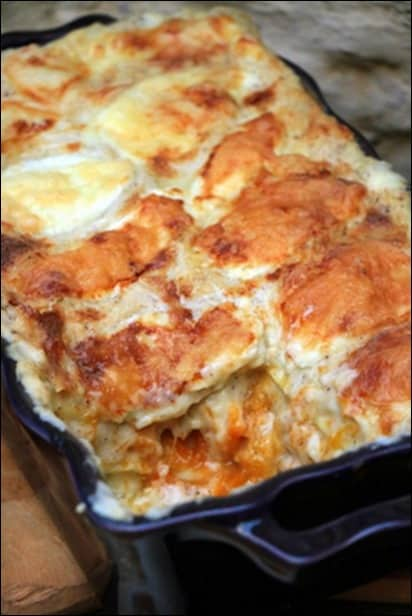 lasagne courge muscade