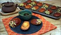 madeleines au safran orange et miel de Yotam Ottolenghi