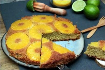 gateau ananas caramel