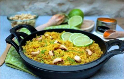riz pilaf au citron