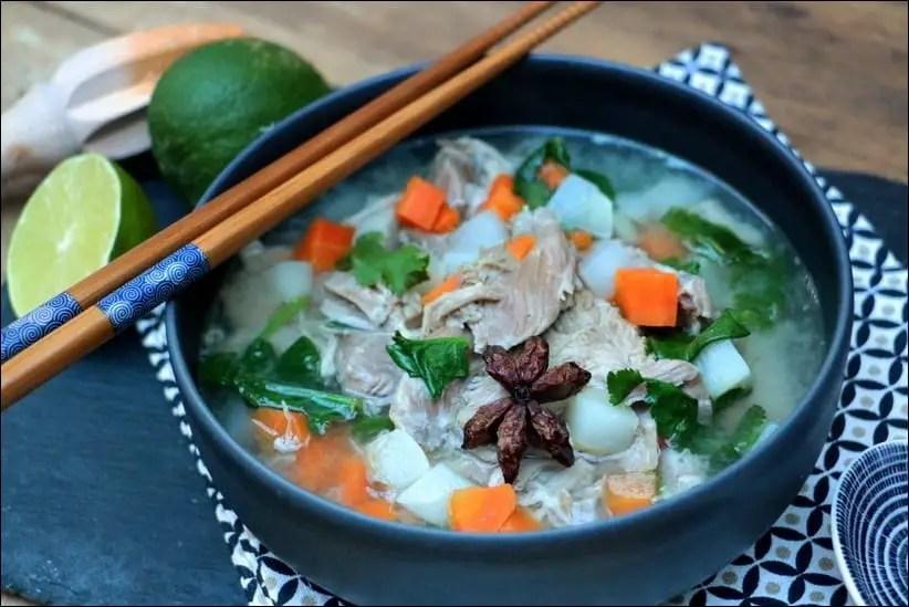 soupe vietnamienne maison