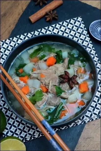 soupe vietnamienne rapide et facile