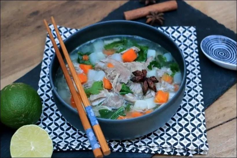 soupe vietnamienne porc
