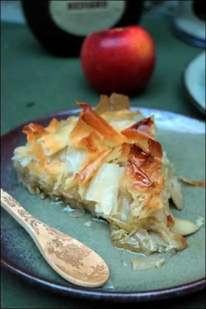 tourtière filo pommes