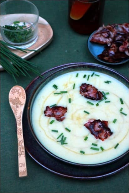 soupe endives fromage