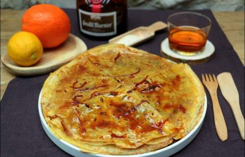 crêpes suzette faciles de Benoit Castel