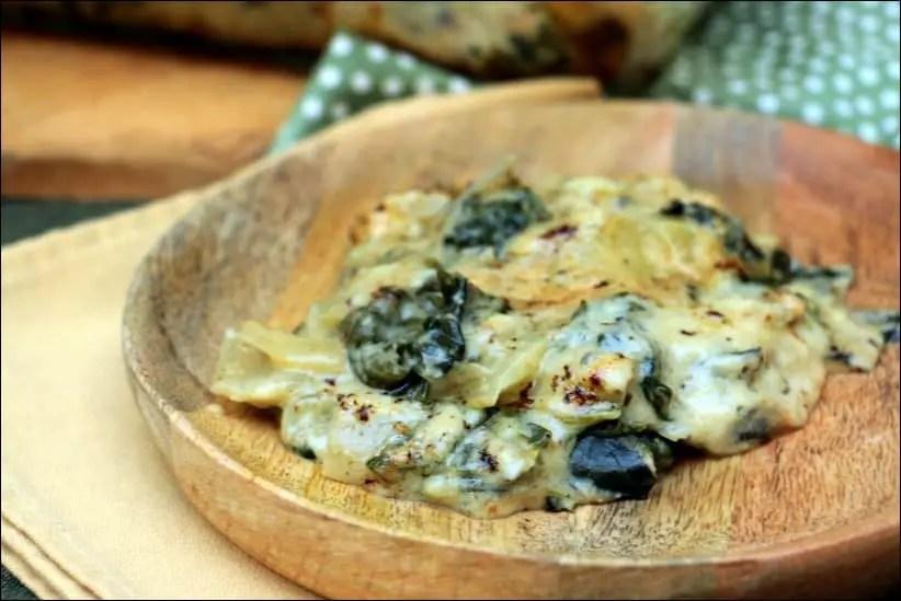 gratin blette sans oeuf