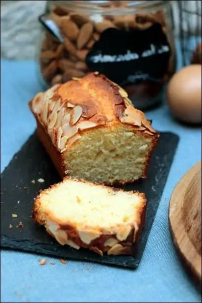 cake amande fleur d'oranger