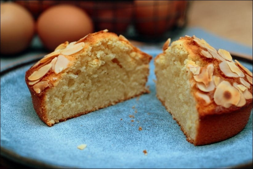 cake pate d'amande fleur d'oranger citron