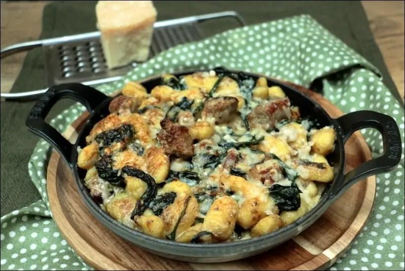 gnocchi aux épinards et fromage