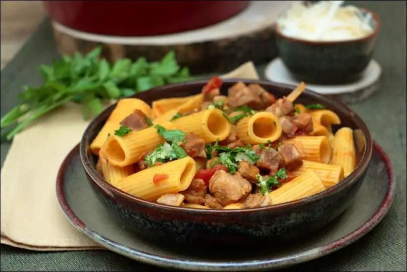 risotto de macaroni à la corsoise