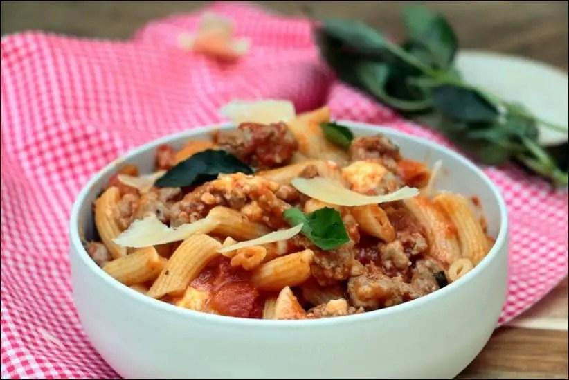 macaroni ragout a la tomate