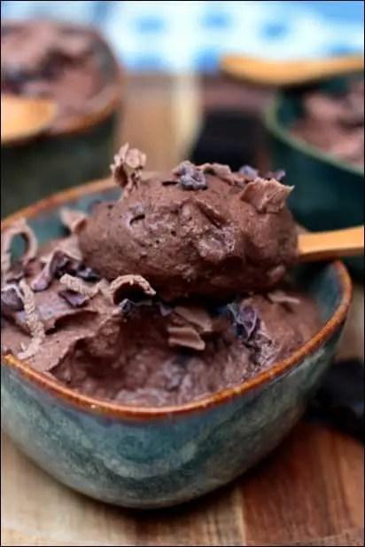 mousse chocolat sans beurre