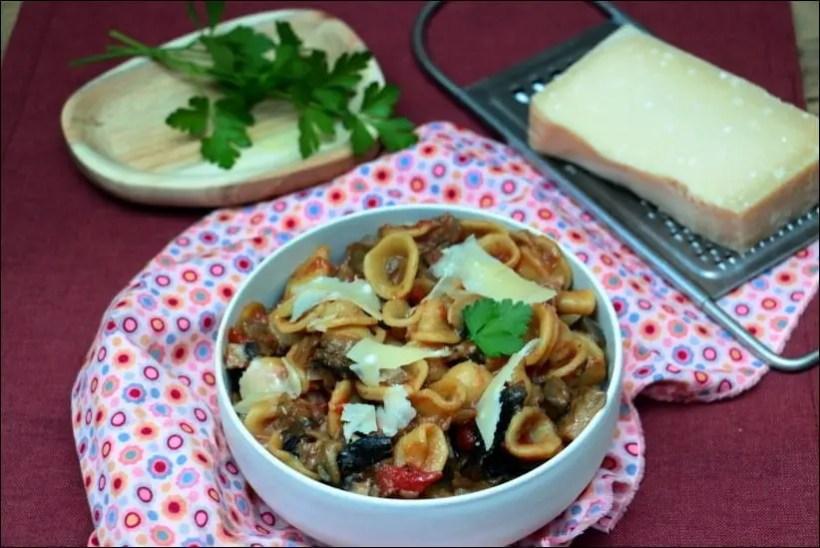 one pot pasta aubergine