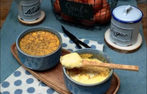 petits pots de crème à la vanille de Cyril Lignac