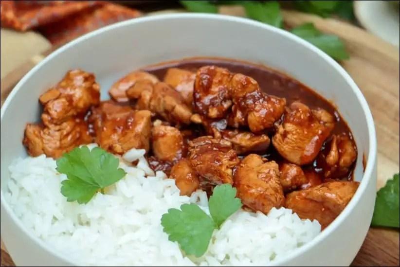 poulet gingembre recette facile