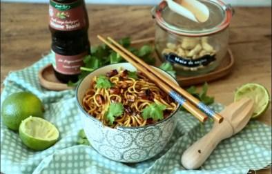 nouilles à l'asiatique de Jamie Oliver