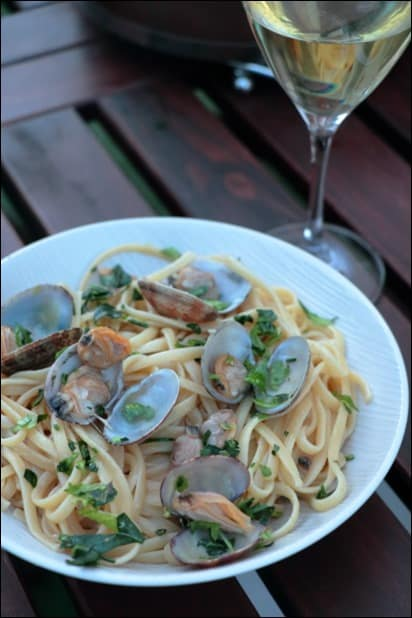 vongole ail persil
