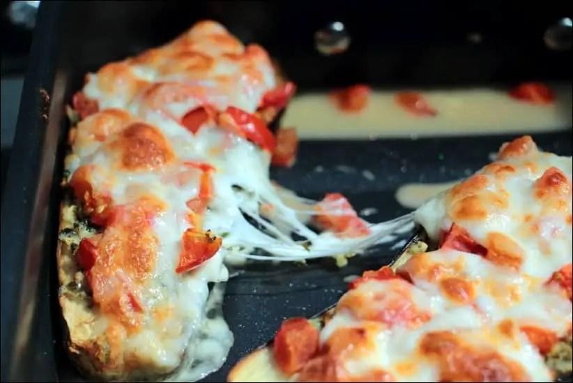 aubergine tomate mozzarella