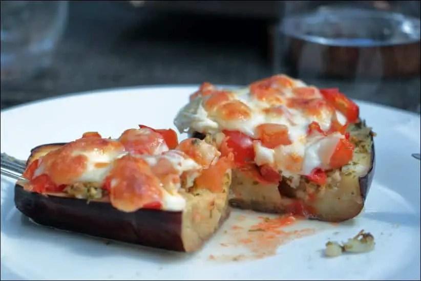 aubergines à la sarde