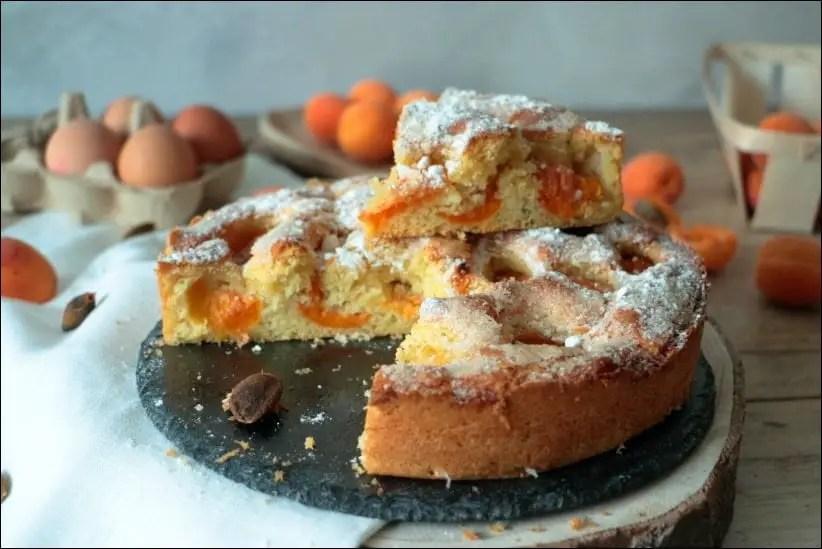tarte briochée abricot