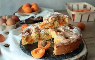 gâteau brioché aux abricots
