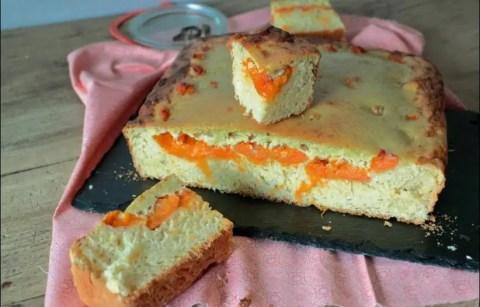 tarte briochée aux abricots et à l'amande