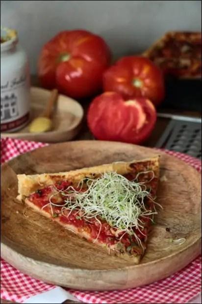 tarte tomate emmental