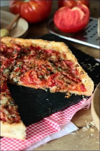tarte tomate comté