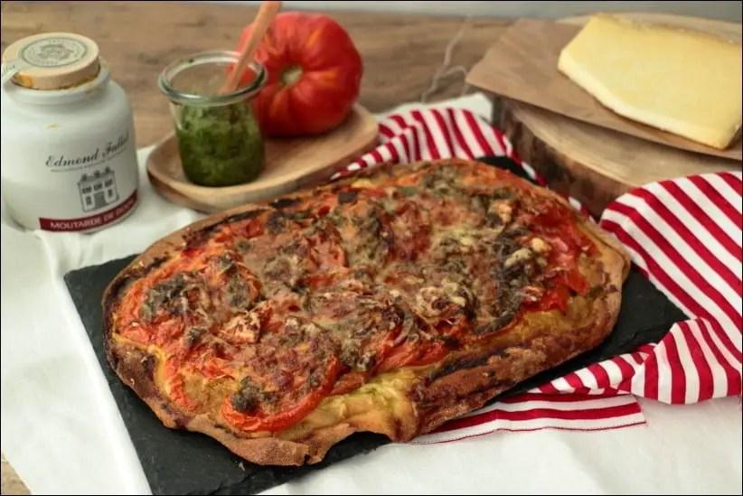 tarte tomate basilic