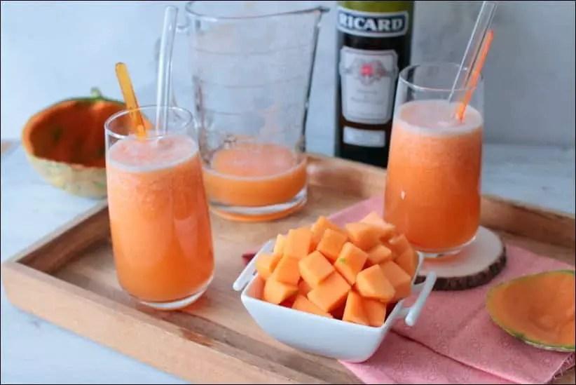 cocktail melon pastis