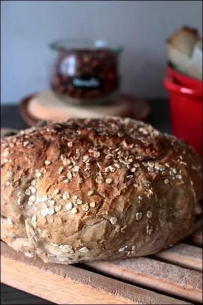 pain noisette maison