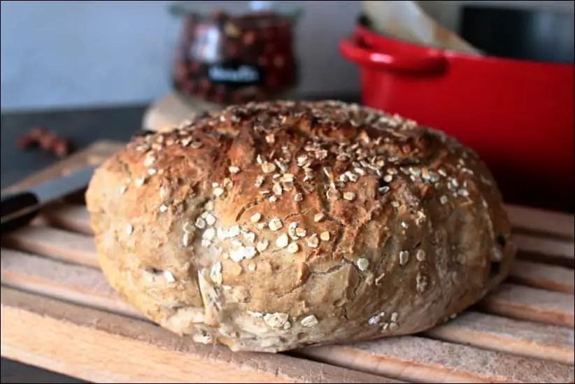 pain cocotte à la main