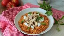risotto à la tomate thon et olives de Cyril Lignac