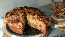 coffee cake aux noix et sirop d'érable