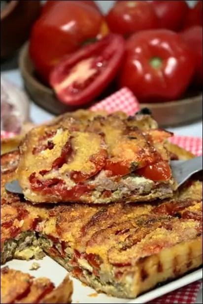 tarte feuilletée tomate viande hachée
