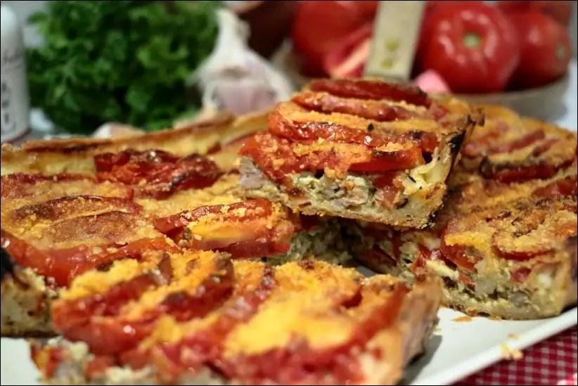 tarte tomate saucisse