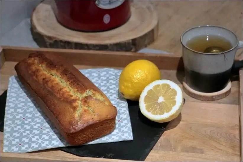 cake citron pavot crème fraîche