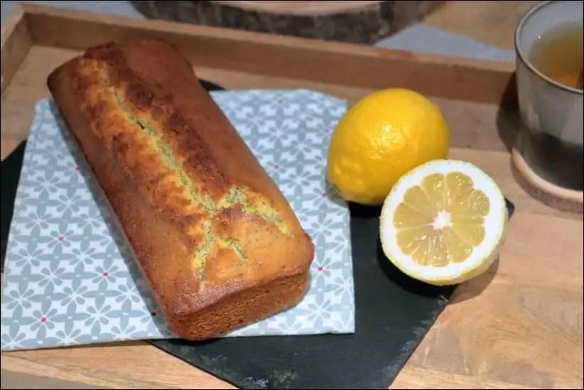 cake au citron graine de pavot